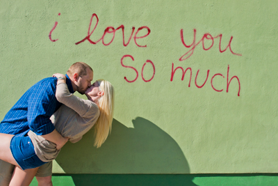 erica nick cochrum wisdom engagement i love you so much mural austin texas